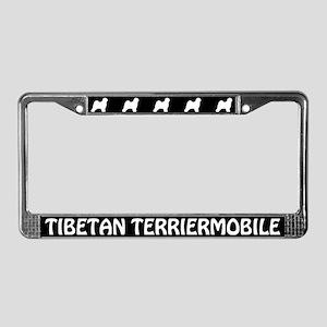 Tibetan Terrier License Plate Frame