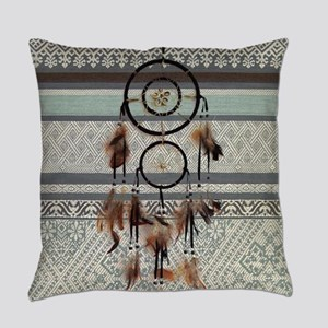 native tribal pattern dream catche Everyday Pillow