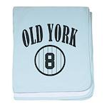 Old York baby blanket