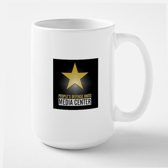 YPG People's Defense Units - Media Cent Large Mug