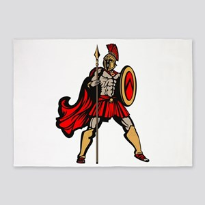 Spartan Warrior 5'x7'Area Rug