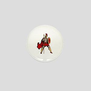 Spartan Warrior Mini Button