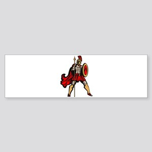 Spartan Warrior Bumper Sticker