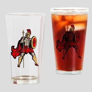 Spartan Warrior Drinking Glass