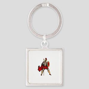 Spartan Warrior Keychains