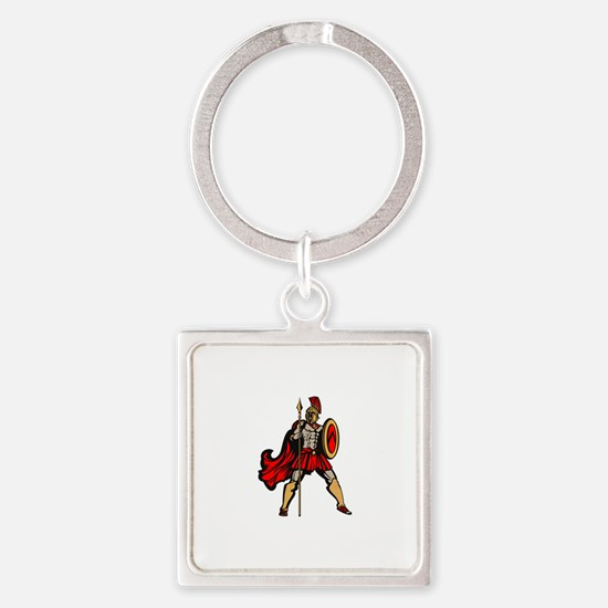 Spartan Warrior Keychains