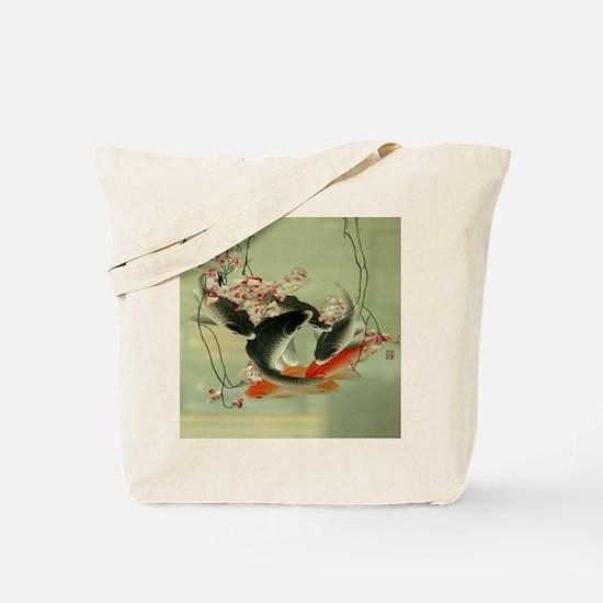 zen japanese koi fish Tote Bag