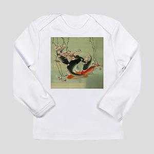 zen japanese koi fish Long Sleeve T-Shirt