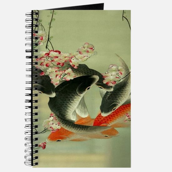 zen japanese koi fish Journal