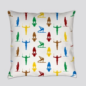 Mens Gymnastics Everyday Pillow
