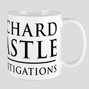 Richard Castle Investigations PI Mugs