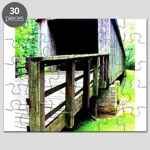 Covered Bridge. Puzzle