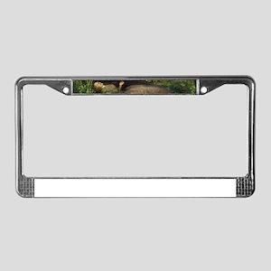 ophelia License Plate Frame