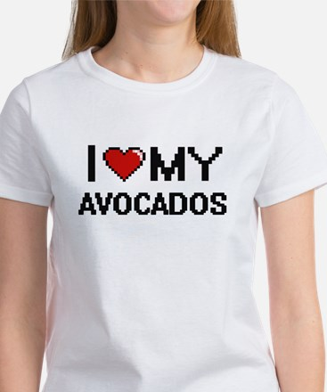 I Love My Avocados Digital design T-Shirt