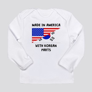 Made In American With Korean Parts Long Sleeve T-S