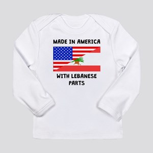 Made In American With Lebanese Parts Long Sleeve T