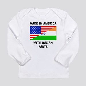 Made In American With Indian Parts Long Sleeve T-S