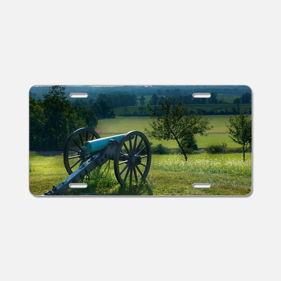 Gettysburg National Militar Aluminum License Plate