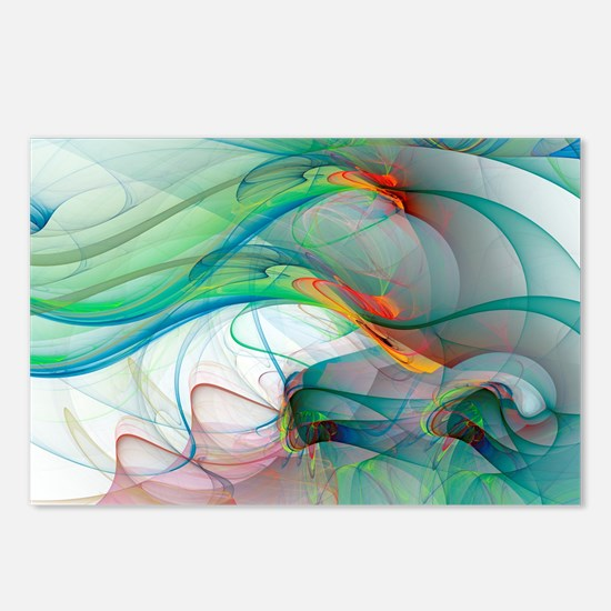 Abstract 1044 Postcards (Package of 8)