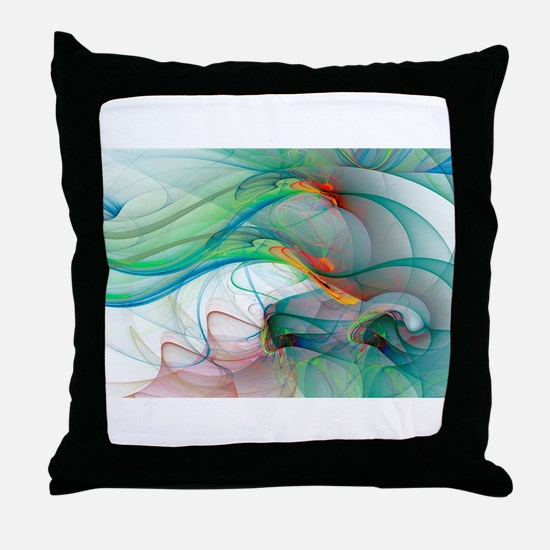 Abstract 1044 Throw Pillow