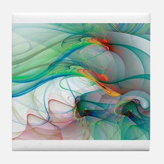 Abstract 1044 Tile Coaster