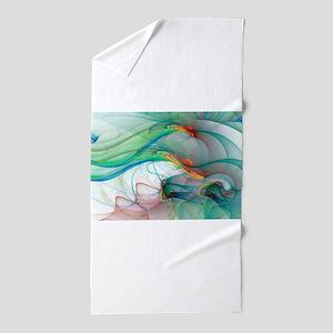 Abstract 1044 Beach Towel