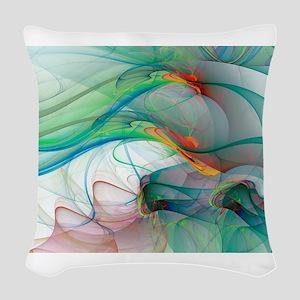 Abstract 1044 Woven Throw Pillow