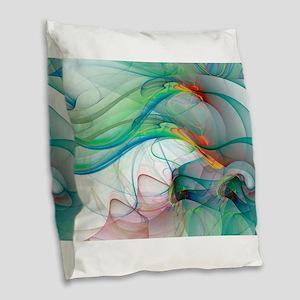 Abstract 1044 Burlap Throw Pillow