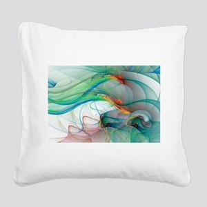 Abstract 1044 Square Canvas Pillow