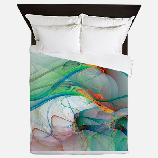 Abstract 1044 Queen Duvet