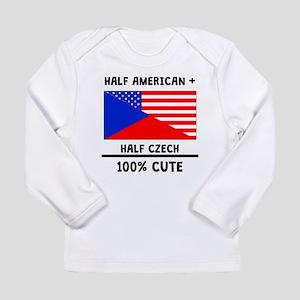 Half Czech 100% Cute Long Sleeve T-Shirt