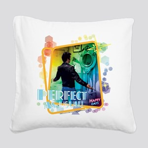Happy Days: Fonzie Perfect as Square Canvas Pillow