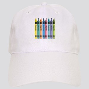 Colorful Crayons Cap