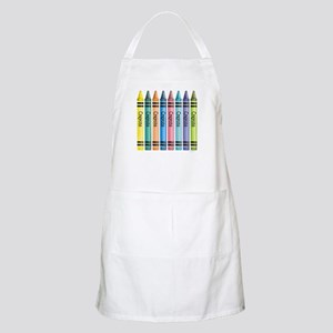 Colorful Crayons BBQ Apron