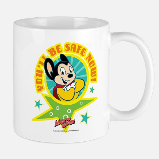 Mighty Mouse: You'll Be Safe Now Mug