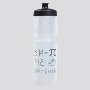 3.14 Pi Equals Pi Backwards Sports Bottle