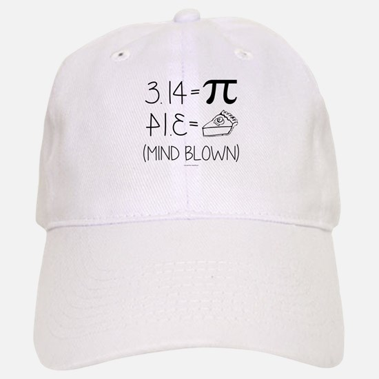 3.14 Pi Equals Pi Backwards Baseball Baseball Cap