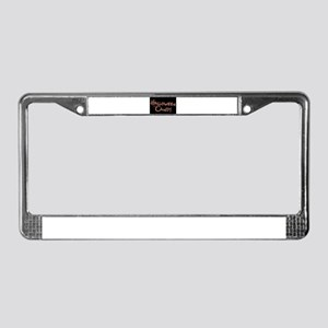 Halloween Candy License Plate Frame
