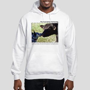Kissing Cows Hooded Sweatshirt
