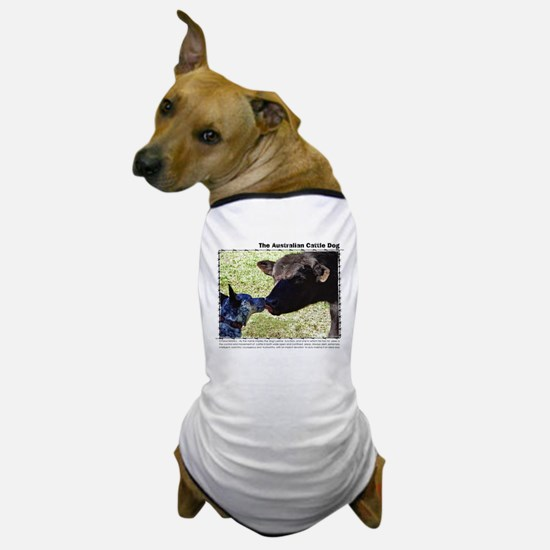 Kissing Cows Dog T-Shirt