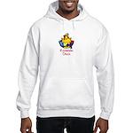 Romanian Chick Hooded Sweatshirt