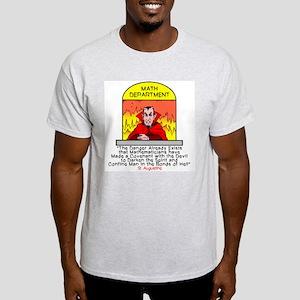 Mathematicians and Satan Light T-Shirt