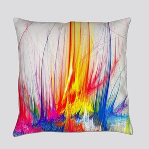 Paint Splatter Everyday Pillow