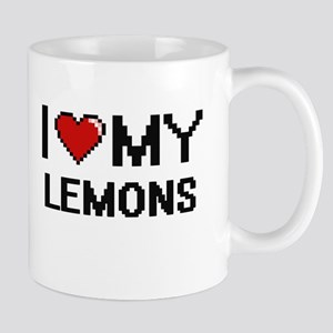 I Love My Lemons Digital design Mugs