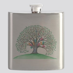 Cabo San Lucas Stray Cats Flask