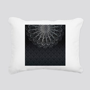 Elegant Pattern Rectangular Canvas Pillow