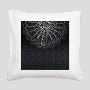 Elegant Pattern Square Canvas Pillow