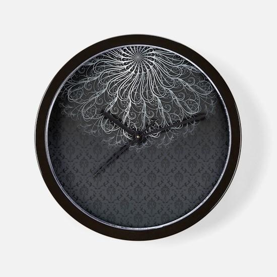 Elegant Pattern Wall Clock