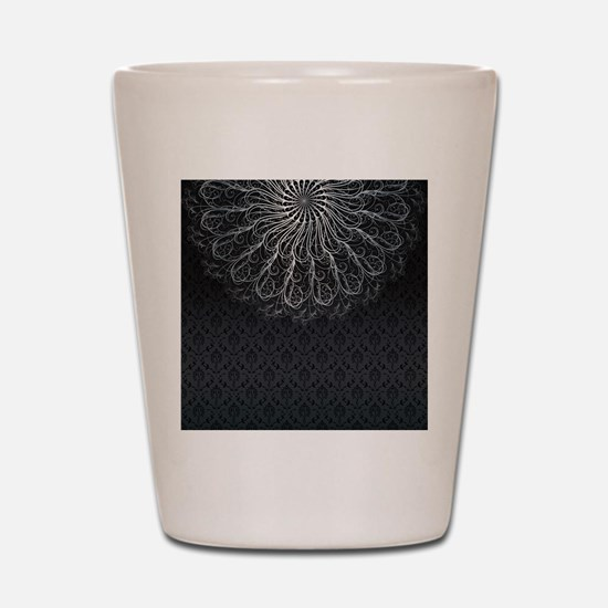 Elegant Pattern Shot Glass