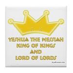 King Of Kings Tile Coaster